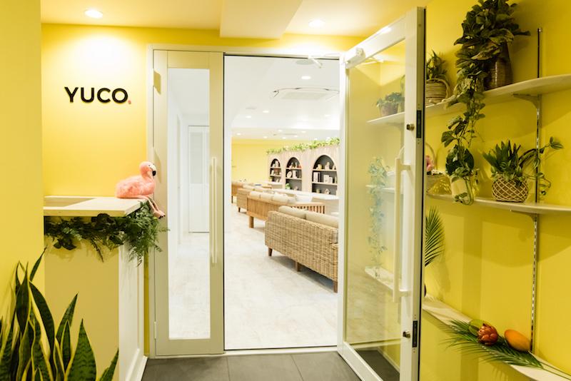 YUCO パーティー会場入り口