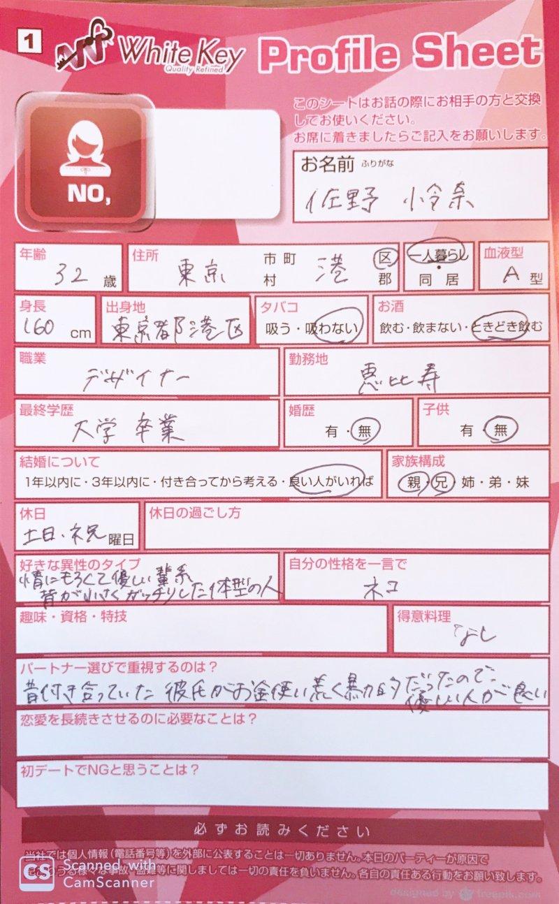 佐野怜奈さん(仮名)