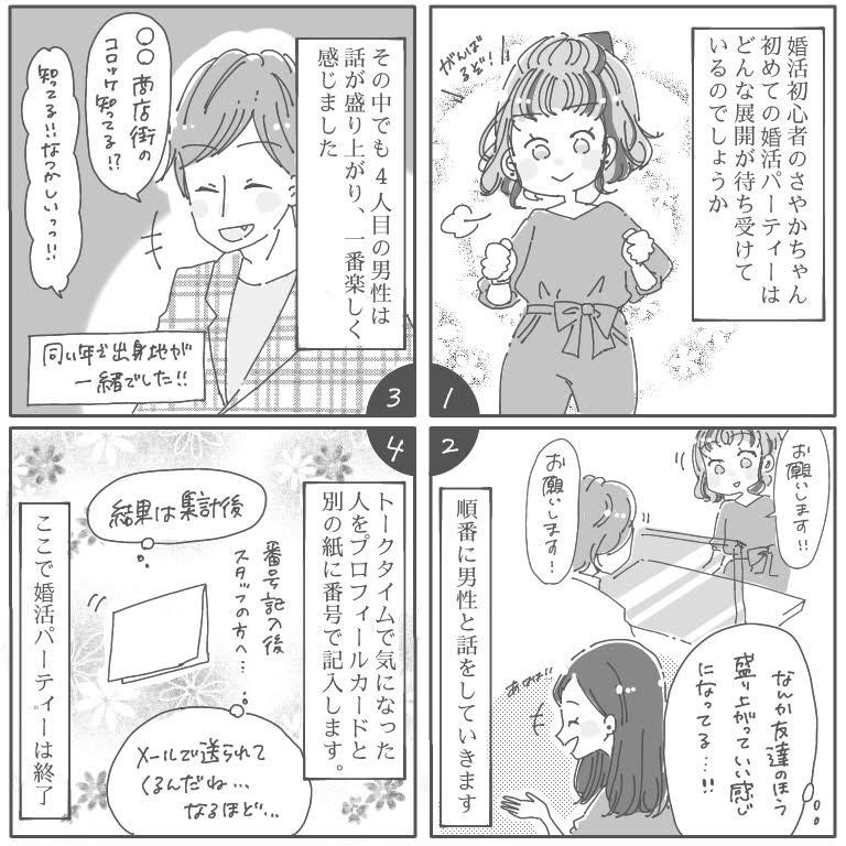 女性無料_婚活パーティー体験談